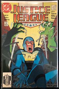 Justice League International #25; Grading: VF/VF+