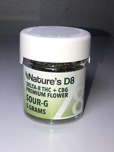 DELTA 8 THC + CBG Premium Flower 5 Grams