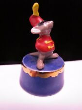 Vintage Disney Figurine Hagen Renaker Timothy Mouse Dumbo