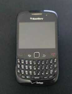BlackBerry Curve 8530 - Black (Verizon) Smartphone - For Parts Only - AS-IS