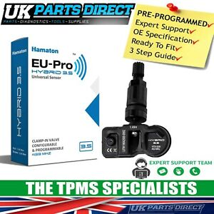 TPMS Tyre Pressure Sensor for Volvo S60 Cross Country (18-24) - BLACK - CODED