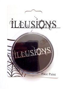Halloween Face Paint Aqua Illusions Make Up Black