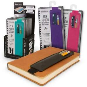 NEW! If Bookaroo Pen Pouch Holder for Books Notebooks Journals
