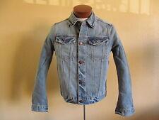 Hollister - Men's White Point Denim Jeans Jacket Size (S) M