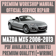 buy mazda mx 5 car service repair manuals ebay rh ebay co uk 2006 mazda mx 5 repair manual 2006 Mazda Miata MX-5