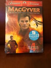 MacGyver - The Complete Fourth Season (Dvd, 2005, 5-Disc Set, Checkpoint) New