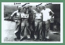 Frank Guidone WWII 1st Raider Guadalcanal Signed 4x6 Glossy Photo E18820