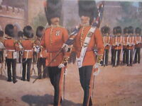 MILITARY POSTCARD- CHANGING GUARD AT ST JAMES BY HARRY PAYNE