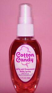 Prince Matchabelli Cotton Candy Girly Girl Fragrance Mist Spray 1.7oz NEW B1