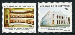 Salvador Scott #1269-1270 MNH Santa Ann Theater $$