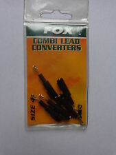 Fox Combi Lead converters size 4 pack of 5