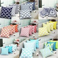 Stripe Pillowcase Cushion Case Home Decoration Polyester Cushion Cover Gift 18""