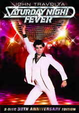 SATURDAY NIGHT FEVER Movie Promo POSTER E John Travolta Karen (Lynn) Gorney
