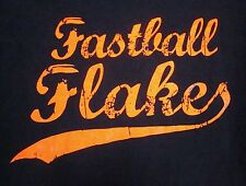 FASTBALL FLAKES cereal Justin Verlander T shirt XL Detroit Tigers distressed tee