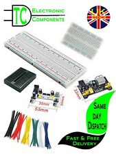 Solderless Prototype Breadboard different sizes and accessories available