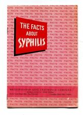 Vintage Booklet METROPOLITAN LIFE INSURANCE Facts about Syphilis