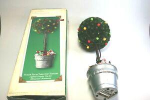 Hallmark Keepsakes Sugar Plum Tabletop Topiary Lighted Display With Box WORKS