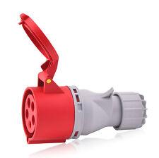 CEE-Steckdose 32A 400V 6h IP44 5-polig(3P+N+E) Industriequalität CE RoHS TÜV