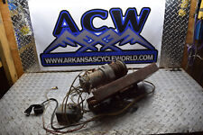 B1-3 WINCH W/ MOUNT BUMPER WENCH W CABLE ATV 4X4 FREE SHIP NON WORKING FOR PARTS