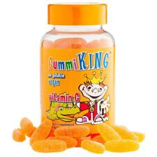 Gummi King, Vegan Vitamin C for Kids, Natural Orange Flavor, 60 Gummies