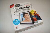 New Adobe Photoshop Elements 3.0 For Windows  FACTORY SEALED