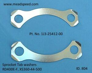 1J3-25412-00 Sprocket Tab Washer, RD400E-F, Yamaha XS250, XS360, XS400, XS500,