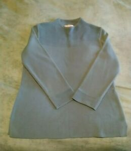 Ladies casual long sleeve top. M&S size 8(UK) Soft blue