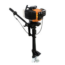 3.5HP 2 Stroke Outboard Motor Boat Engine Air Colling CDI system Inflatable DE
