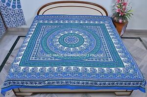 Queen Bohemian Indian Decor Mandala Tapestry Cotton Hippie Wall Hanging Throw