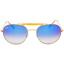 Ray Ban Round Blue Gradient Flash Sunglasses RB3540 198/8B 56-18