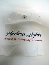 Signed Harbour Lights Award Winning Lighthouses Rare T Shirt Bill Younger Collec