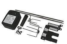 Extra Quiet motor Barbacoa Barbacoa Asador Spit Kit Universal De 41 Pulgadas de longitud