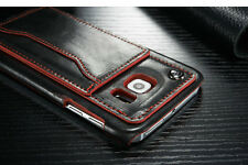 For Samsung Galaxy S6 -  Back  Kickstand Case-Black and Red