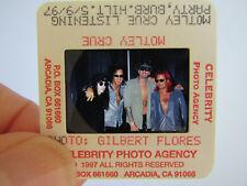 More details for original press photo slide negative - motley crue - 1997 - g