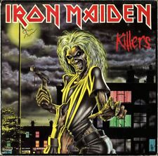 IRON MAIDEN Killers FULLY SIGNED Vinyl LP Clive Burr Paul Di'Anno Dave AUTOGRAPH