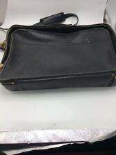 Vintage black coach brief case (Top shelf)