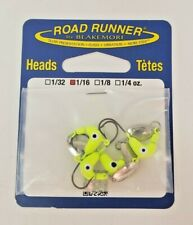Blakemore Fishing Co Road Runner Bulk Head Hook 4 pcs  1/16 NEW NIP JIG F24