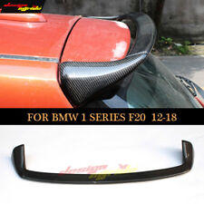 Real Carbon Fiber Top Roof Spoiler Wing AC Style for BMW 1 F20 21 2012-17 118