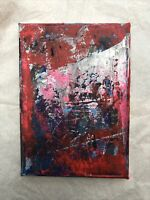 Hasworld Original Signed Painting Abstract Expressionist Not Gerhard Richter Art