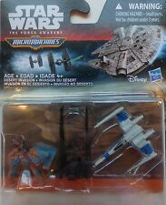 STAR WARS ~The Force Awakens Micromachines B3502~(3 PC) X-Wing Kylo's Ren's