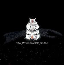 NEW Authentic PANDORA Sterling Silver Winter Snowman Charm 790374