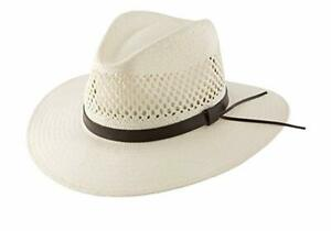 Stetson - Digger Shantung Straw Outback Hat