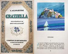 PROCIDA LETTERATURA EDIZIONE ILLUSTRATA DA U. BRUNELLESCHI TESTO IN FRANCESE