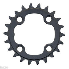 9-Speed Chainring Black for Deore XT FC-M770 Shimano 22T Saint FC-M815 MTB Road
