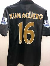 KUN AGUERO MANCHESTER CITY 2013 MATCH UNWORN SHIRT