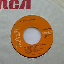 *VICKY LEANDROS The love in your eyes /You answer..NM-.CANADA 1973 Vinyl RCA 45