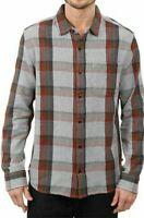 Toad&Co Men's Earle Long Sleeve Shirt Organic Cotton Jeep Size S T2251405
