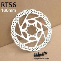 160mm Bicycle MTB Bike Cycling Disc Brake Rotor With 6 Bolt For Shimano SM-RT56