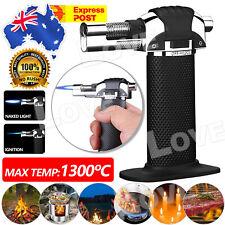 Windproof Jet Lighter Butane Gas Refillable Baking Flame Welding Torch Outdoor