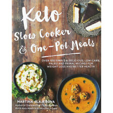 Keto Slow Cooker and One-Pot Meals (Paperback), New Arrivals, Brand New